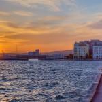 ηλιοβασίλεμα λιμάνι Βόλου